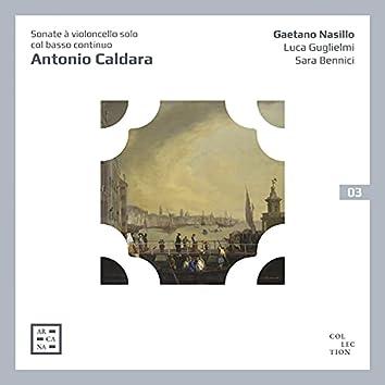 Caldara: Sonate à violoncello solo col basso continuo