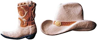 Edible Sugar Decorated Cowboy Hat 3.7