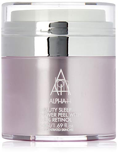 Alpha-H Beauty Sleep Power Peel - Mascarilla facial con 0,5 % de retinol (50 ml)