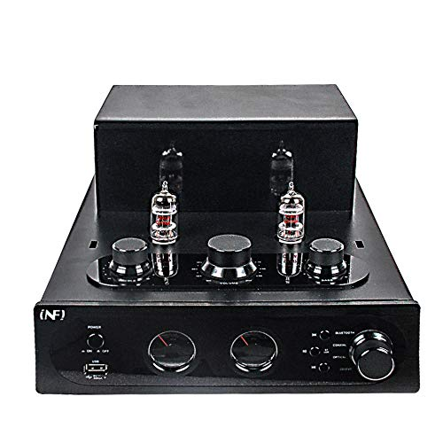INFI Audio Hybrid Class AB Tube Amplifier Power Amp with Bluetooth, Home Audio HiFi Stereo Integrated Amp, AUX, Bluetooth, USB, Optical, Coaxial