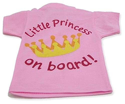 Little Princess On Board - Car Sign