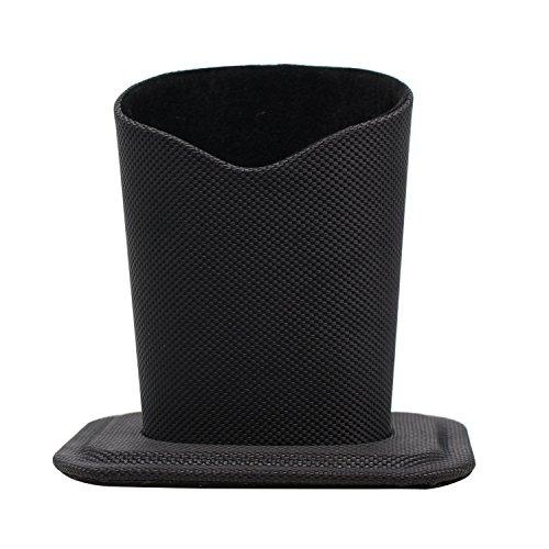 Eyeglass Holderメガネスタンドケース、スタンド眼鏡ケースのデスクやサイドテーブル US サイズ: S カラー: ブラック