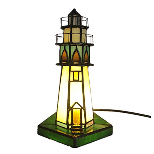 LJUCTD - Lámpara de mesa (metal, para dormitorio nocturno, con protección de ojos LED)