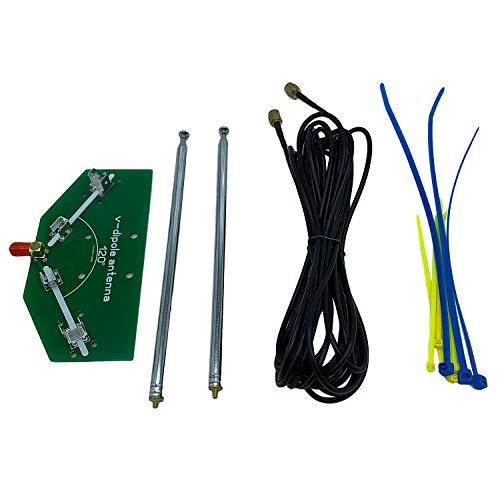 Nrpfell 78M-1 GHz Frequenz Empfang 137MHz Positive V Horn Antennenstab Antenne V-Dipol Antenne - V1 Antennenoszillator