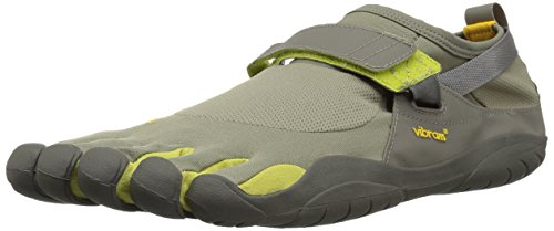 Vibram Fivefingers KSO, Zapatillas de Cross Hombre, Gris (Taupe/Palm/Grey Taupe/Palm/Grey), 39 EU