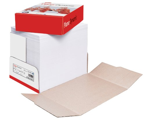 Papyrus 88027685 Druckerpapier PlanoDynamic 80 g/m², A4, 2-fach gelocht 2500 Blatt weiß
