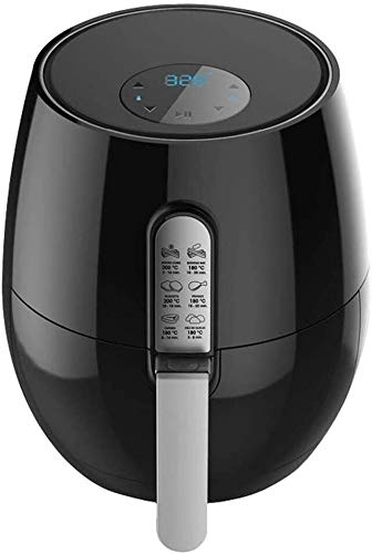 Fryer Air Fryer 3.6 Hot Air Fryer with Digital Di Splay Adjustable Temperature Control 1350W Air Cooker Non-Stick Dishwasher Safe Basket Best Gift