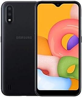 هاتف سامسونج جالكسي ايه 01 ثنائي شرائح الاتصال - سعة تخزين 16 جيجا، ذاكرة رام 2 جيجا، الجيل الرابع ال تي اي  5.7 inches SM-A015FZ