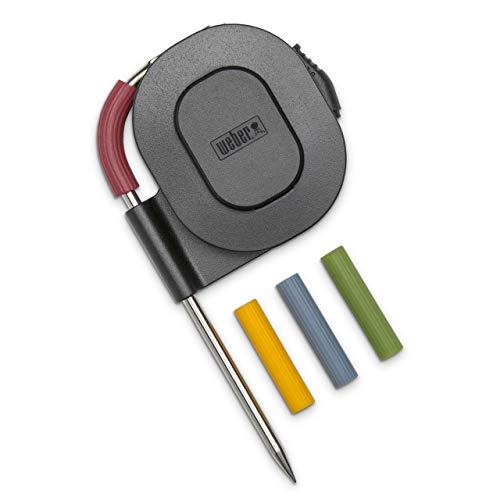 Weber 7211 Fleischtemperaturfühler, Temperaturbereich von -30 bis +300 °C, schwarz