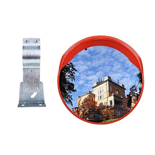 Byx Convex veiligheidsspiegel Veiligheidsspiegel Convex Spiegel Verkeer Spiegel Anti-diefstal Monitoring PC Zonnebrandcrème Waterdicht Duurzaam Magazijn Gedreven Garage