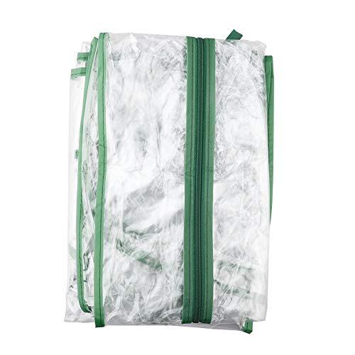 VSTAR66 Cubierta de invernadero de 4 niveles, cubierta de PVC transparente para invernadero para plantas suculentas, flores (estante no incluido)