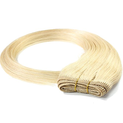 Just Beautiful Hair 100g REMY Echthaar-Tresse - glatt - 60 cm - #20 aschblond
