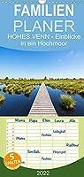 HOHES VENN - Einblicke in ein Hochmoor - Familienplaner hoch (Wandkalender 2022 , 21 cm x 45 cm, hoch): 12 beeindruckende Bilder des groessten Hochmoors Europas im Jahresverlauf (Monatskalender, 14 Seiten )