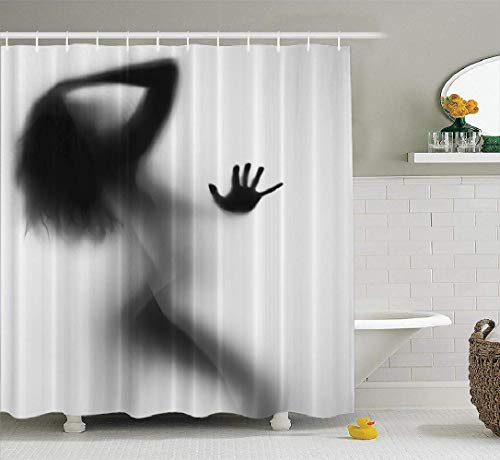 Fashionable Style Fuck It Just Get Naked Bathroom Shower Curtain 66x72 inches