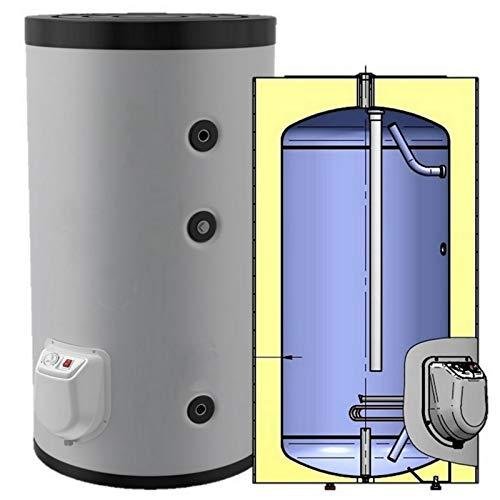 Elektrospeicher, Standspeicher, Warmwasserspeicher leistungsstarker Boiler mit 3 kW Heizleistung und Zirkulationsanschluß in der Größe 200 L Liter