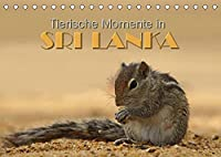 Sri Lanka - Tierische Momente (Tischkalender 2022 DIN A5 quer): Dieser Kalender gibt einen Einblick in die Tierwelt Sri Lankas (Monatskalender, 14 Seiten )