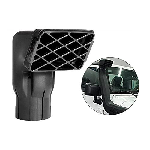 happy time Admisión de Aire Admisión de Aire con Aire Negro Ajuste de reembolso en Forma de reemplazo de Carreteras Mudding Snorkel Head Air Ingesha RAM Cabeza para SUV Carro