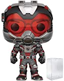 Marvel: Figura de vinilo Hank Pym Funko Pop! (incluye funda protectora compatible con caja de pop)
