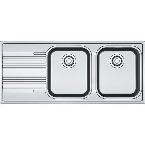Franke fregadero Smart inoxidable srx621cm 1162senos y escurridor lateral–Bordo Slim–Producto de integrado