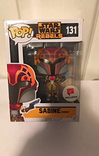 Funko Pop! 131 Star War Sabine Masked Exclusive Rebels