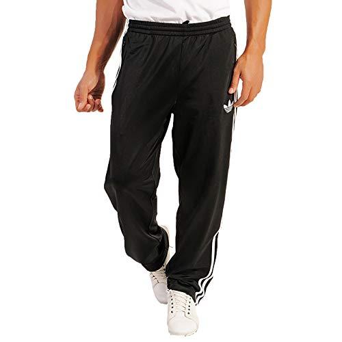 adidas Herren Trainingshose Firebird XX-Small Mehrfarbig - schwarz/weiß