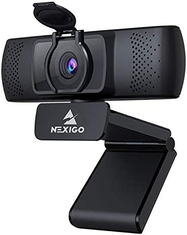 2021 1080P Streaming Business Webcam with Microphone Privacy Cover AutoFocus NexiGo N930P HD product image