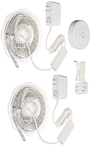 Philips Hue 1st Generation LightStrip 2-Pack...