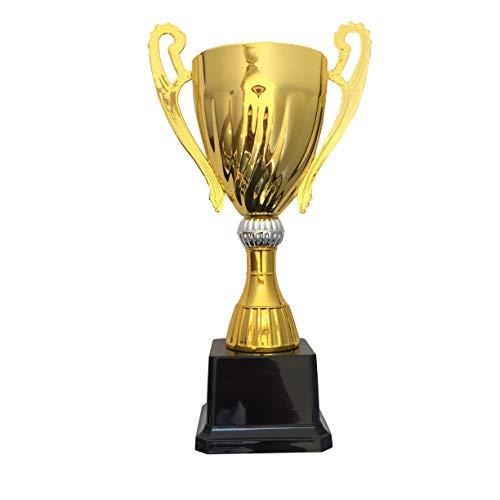 Durabol - Trofei sportivi, laminati, calici da regalo, 9,5x 24,5cm, in metallo, colore oro