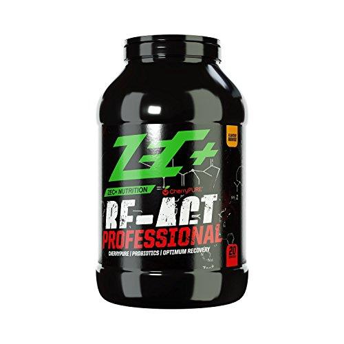 ZEC+ RE-ACT Professional Post Workout Shake 1700 g, mit essentiellen Aminosäuren, Protein, Whey Hydrolysat, Kohlenhydrat-Komplex, Verdauungsenzymen, Mango