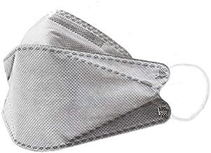 【5枚セット】GOGO789【FREE SIZE】いろはに銅マスク5枚入り 抗菌 口臭 静電気防止 曇らないマスク 立体マスク グレー