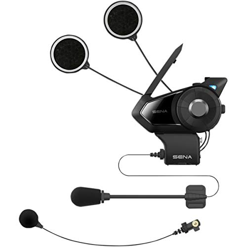 Sena 30K-01D Motorcycle Bluetooth Communication System with Mesh Intercom - Dual Kit [ Dual Pack ]