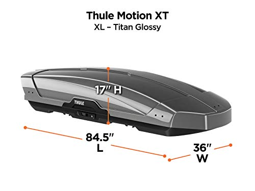 Thule Motion XT Rooftop Cargo Box