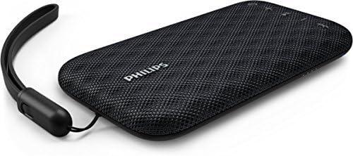 Philips Everplay BT3900B - Altavoz Bluetooth (Potente y portátil, Resistente al Agua, con micrófono, Correa USB) Colo...