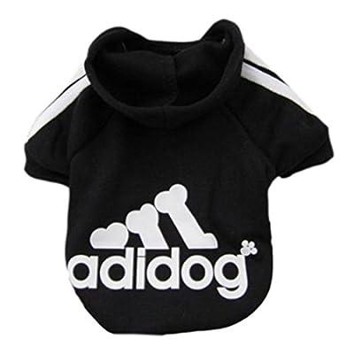 Pet Dog Clothes Coat Soft Cotton Adidog Clothing 7 Colors Small Size S M L Xl XXL Dog Jacket