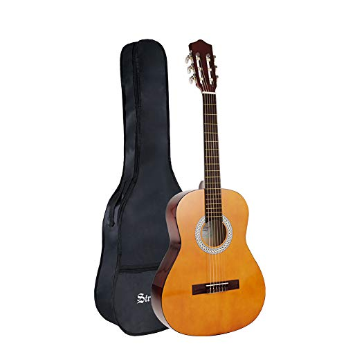 Strong Wind 36 Inch Classical Acoustic Guitar Nylon Strings Guitar Beginner for Students Children Adult With Bag