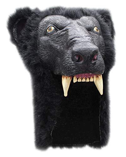 Horror-Shop Black Bear Helm