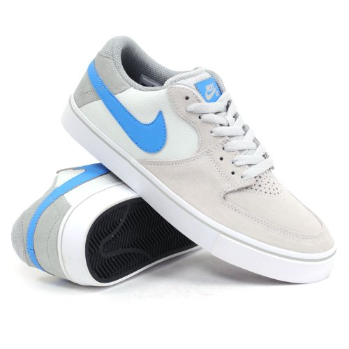 Nike SB Paul Rodriguez 7 Vr Herren Sportschuhe 599673 Sneakers Schuhe, - light base grey/vivid blue-base grey 040 - Größe: 40,5 EU