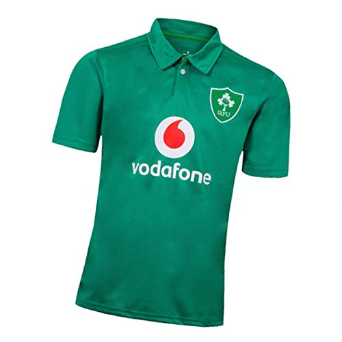Rugby Trikot 2019 Japan Weltmeisterschaft Irland Home and Away Fußballtrikot Sweatshirt Kurzarm geeignet für Studenten, Kinder und Erwachsene Gr. XL, green3