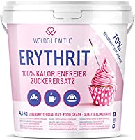 Erythritol 4.5kg substitut de sucre sans calories - Alternative Naturelle au Sucre