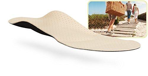 myVALE myVALE Anytime Leather Comfort plus maßgefertigte Komforteinlage Einlegesohle nach dem eigenen Fußabdruck