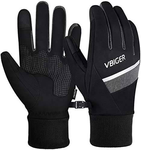 3M Winter Gloves Touch Screen Gloves Cycling Sports Gloves with Reflective Strips Anti Slip product image