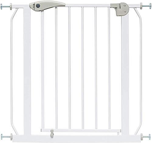 Puerta de seguridad de la escalera Cerrar automáticamente la puerta de los niños | para puerta/escalera,58 * 66