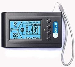 Advanced GQ EMF-380 V2 Multi-Field Electromagnetic Radiation 3-in-1 EMF ELF Meter RF Spectrum Analyzer Ghost Cell Tower Smart Meter WiFi Hidden Spy Camera Signal Bug Detector RF up to 8G