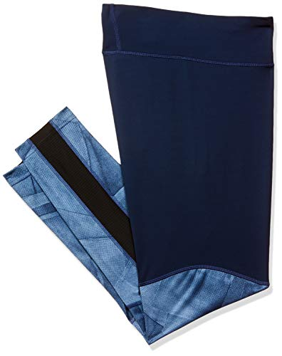 Reebok Wor Colorblocked Tight Damen-Leggings, Damen, Netze, D95072_Multicolor (Bunblu)_2XS, Mehrfarbig (bunblu), XXS