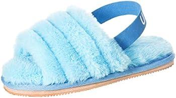 Ubxrin Womens Fuzzy Fluffy House Slippers