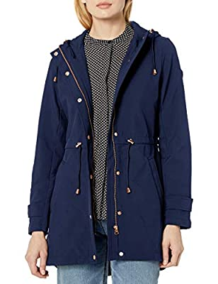 Jessica Simpson Women's Fashion Outerwear Jacket, Layer Detail Navy, X-Large from Jessica Simpson