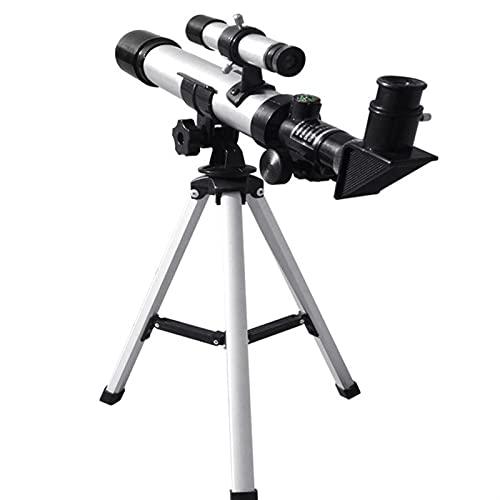 CHENXU Telescopio Astronómico para Adultos Telescopio de refracción de Apertura de 70 mm con trípode para la observación de Espacio Visualización Star Moon Saturno JUPIT