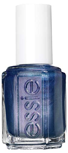 essie Winterkollektion Nagellack 586 glow with the flow in hellblau, 14 ml