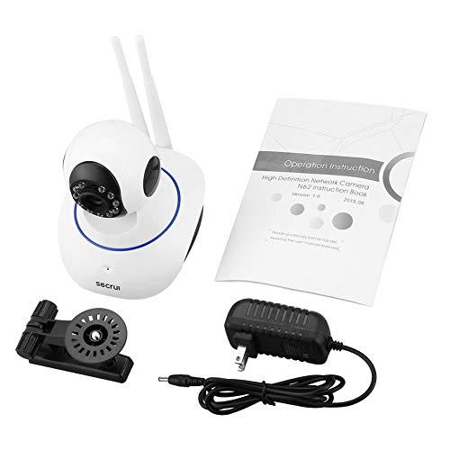Bubbry N62 Draadloze netwerkcamera 720P WiFi IP Webcam beveiligingscamera