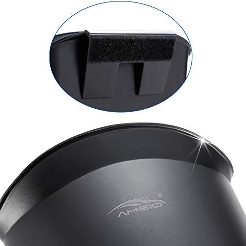 AMEIQ自動車用ゴミ箱、プラスチック製、オフィスと書斎適用、接着剤がアップグレードされました